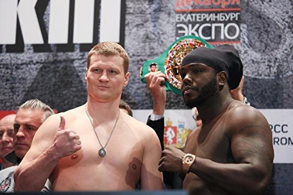Русского боксера Поветкина сняли сбоя из-за благоприятной допинг-пробы