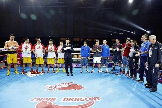 Русская команда «Patriot Boxing» всухую переиграла китайскую команду в Казани
