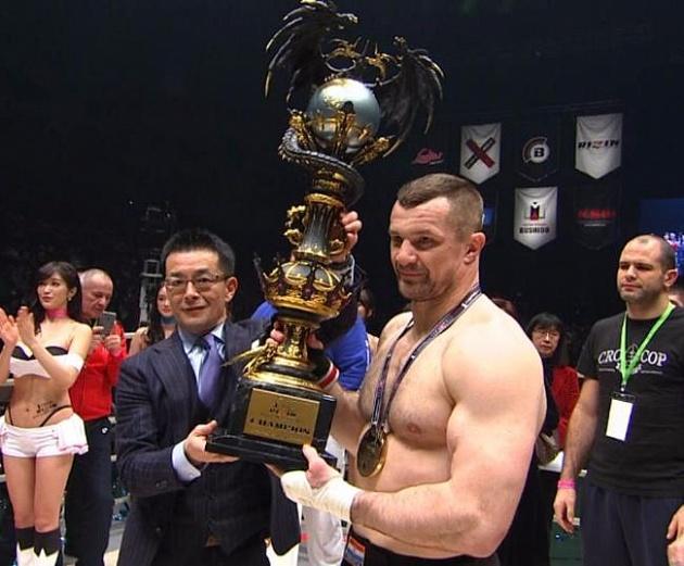 Мирко «Кро Коп» нокаутировал Амира Алиакбари и одержал победу Гран-при RIZIN