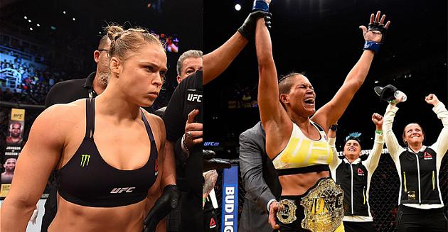 30декабря натурнире UFC 207: Ронда Роузи— Аманда Нуньес