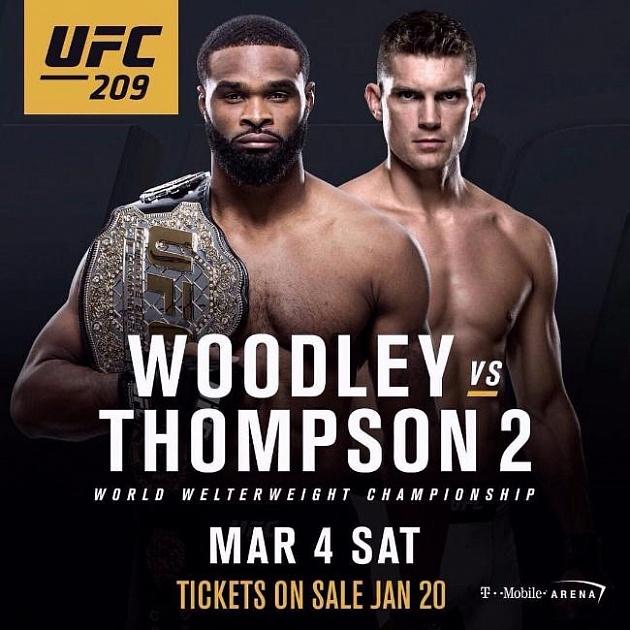 Картинки по запросу Тайрон Вудли-Стивен Томпсон. UFC 209