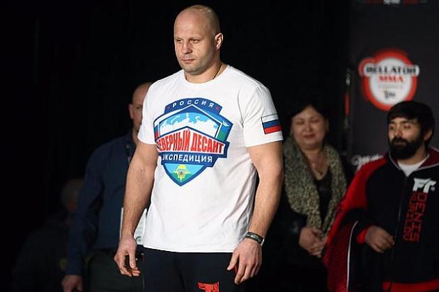 Федор Емельяненко примет участие вГран-при тяжеловесов Bellator