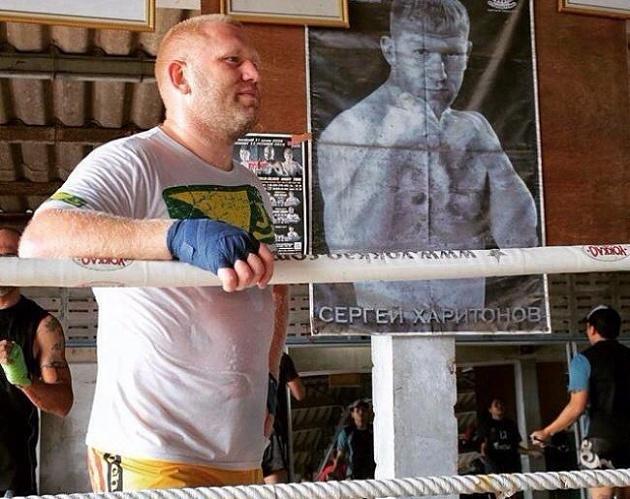 Сергей Харитонов: «Хочу стать чемпионом Bellator»