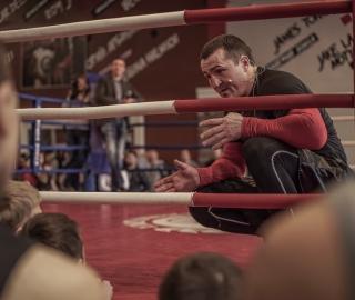 В Академии Бокса прошла открытая тренировка Дениса Лебедева_10